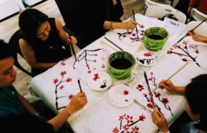 Chinese Ink Painting Team Building and Team Bonding Success Team Building Singapore