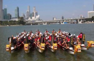 Dragon Boat Team Building and Team Bonding Success Team Building Singapore
